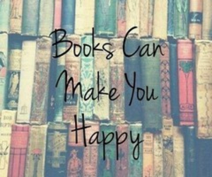 book and happy image