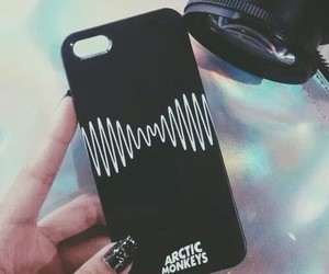 arctic monkeys, black, and case image