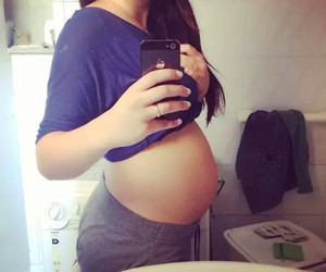 pregnant and cute image