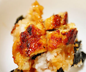 food, japanese meal, and meat image