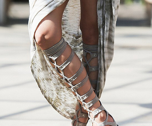 boho, sandals, and shoes image