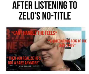 bap, zelo, and kpop meme image