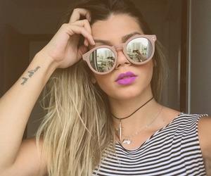 fashion, shades, and makeup image
