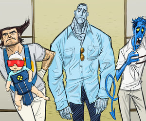 hangover, wolverine, and x-men image