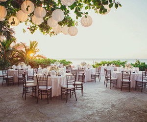 wedding, party, and place image