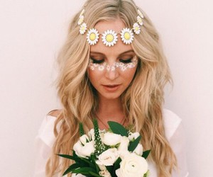 candice accola, flowers, and tvd image