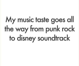 music, disney, and punk image