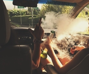 car, dope, and interior image