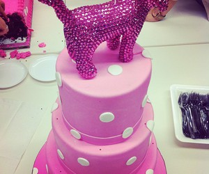 cake and pink image