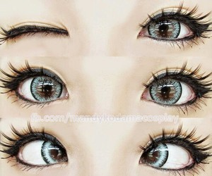eyes, blue, and tumblr image
