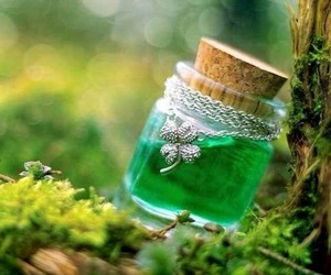 green, magic, and nature image