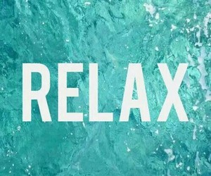 relax, water, and summer image