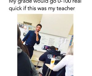 funny, teacher, and boy image