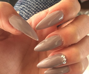 lovely, nails design, and nail art image