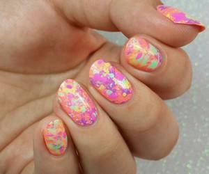 color, nail, and nail art image
