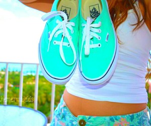 beach, colors, and shoes image
