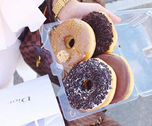 dior, food, and donut image
