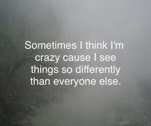 alone, crazy, and foggy image