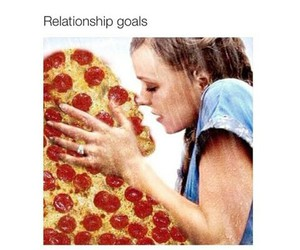 pizza and goals image