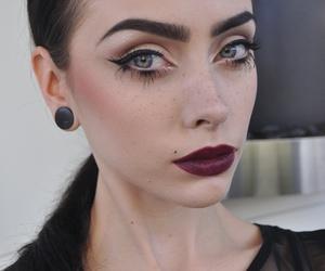 johanna herrstedt, girl, and makeup image