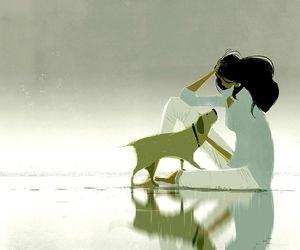 animal, art, and dog image