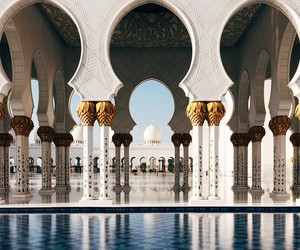 travel, mosque, and architecture image