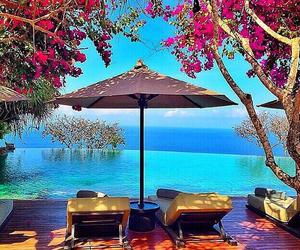 summer, paradise, and luxury image