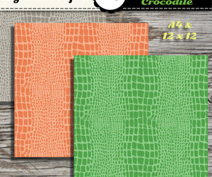 scrapbooking, crocodile skin, and digital paper image