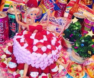 barbie, cake, and kawaii image