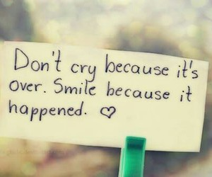 smile, quotes, and cry image