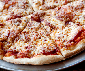 food, love, and pizza image