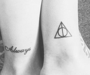 always, harry potter, and deathly hallows image