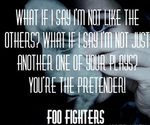 dave grohl, foo fighters, and Lyrics image