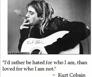 kurt cobain, quote, and nirvana image