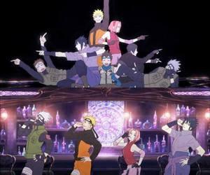 naruto, sakura haruno, and sasuke uchiha image