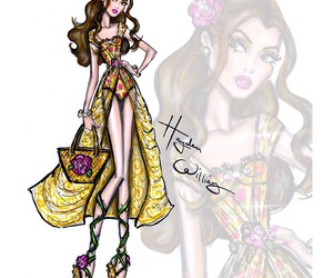 hayden williams, belle, and disney image