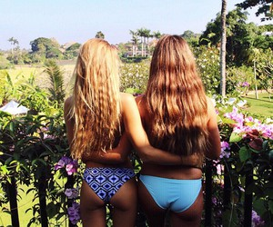 summer, bikini, and girls image