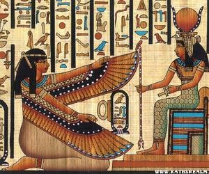 egypt, goddess, and isis image