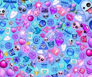 swirl, tumblr, and emojis image