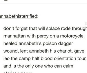 percy jackson, tumblr post, and annabeth chase image