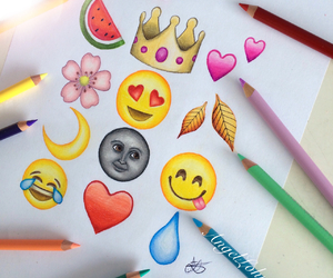 emoji, art, and drawing image