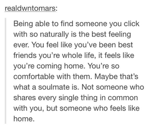 home, quotes, and soulmate image