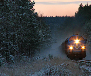 photography, train, and pretty image