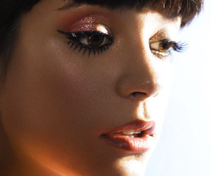lily allen, pretty, and makeup image
