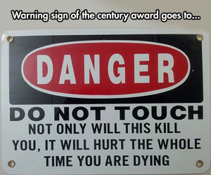 danger, funny, and lol image