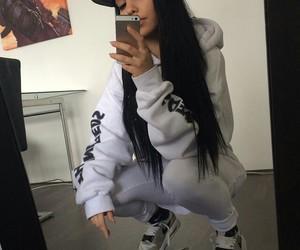 girl, style, and nike image