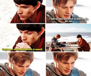 arthur, merlin, and camelot image