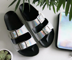 holographic, fashion, and shoes image