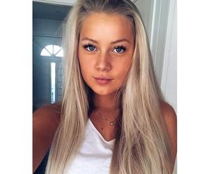 blonde, fashion, and beautiful image