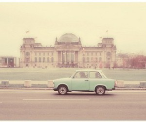car, vintage, and berlin image